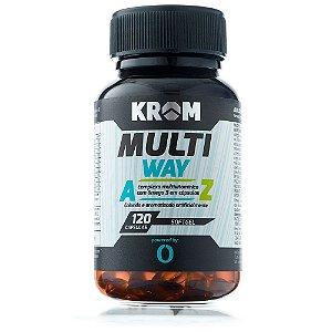 Multi Way (120 softgels) Krom Suplementos