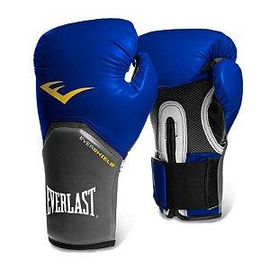 Luva de Boxe Pro Style Everlast - AZUL