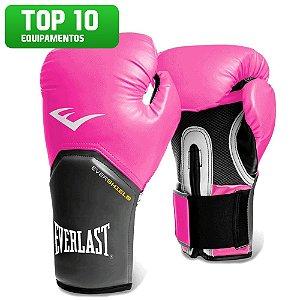 Luva de Boxe Pro Style Everlast - ROSA
