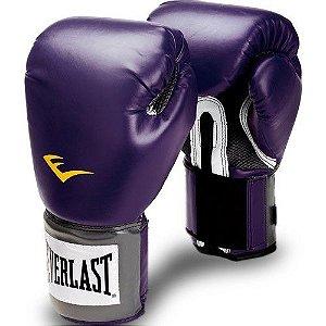 Luva de Boxe Pro Style Roxa Everlast