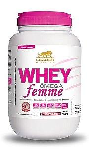Whey Ômega Femme (900g) Leader Nutrition