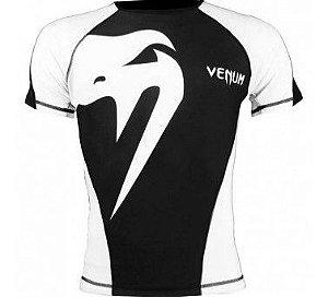Rash Guard Venum Giant PRETO/BRANCO