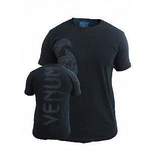 Camiseta Venum Giant - PRETA/MATTE