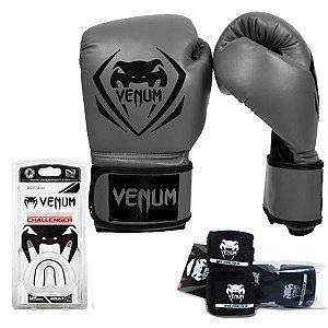 Kit Boxe Venum Contender CINZA