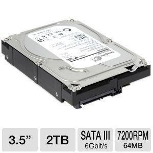 HD Seagate 2000GB (2TB) SATA 3