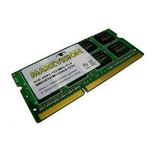 Memória MarkVision 8GB DDR3 1333Mhz para Notebook