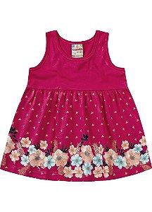 Vestido Brandili Baby Rosa Floral