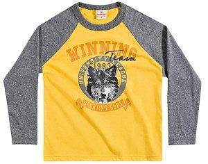 Camiseta Brandili Amarelo