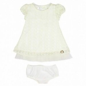 Vestido Renda e Tule Art Kids