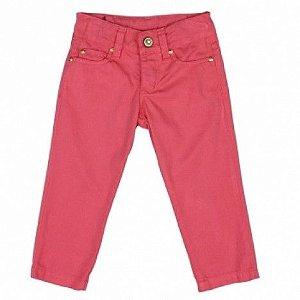 Calça Jeans Rosa Art Kids