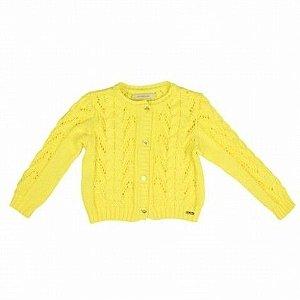 Casaco Tricot Amarelo Art Kids