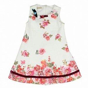 Vestido Jardim Precioso 1+1