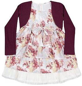Vestido Tule Infanti