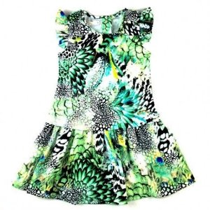 Vestido Floresta Art Kids
