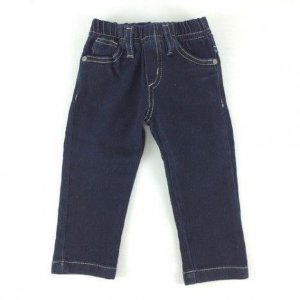 Calça Jeans Escura Moletom Art Kids