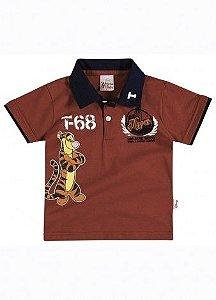 Camiseta Tigrão Gola Polo Brandili