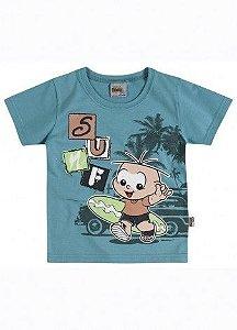 Camiseta Cebolinha Surf Brandili