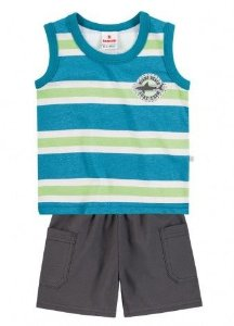 Conjunto Regata e Short Miami Beach Brandili