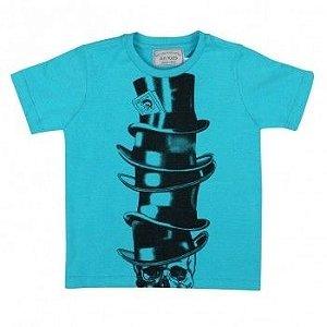 Camiseta Art Kids Caveira