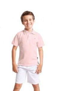Camiseta Polo Lisa Elian