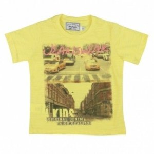 Camiseta Amarela Art Kids