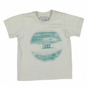 Camiseta Art Kids Praia