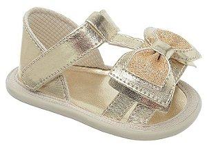 Sandália Babyi Dourada Lacinho