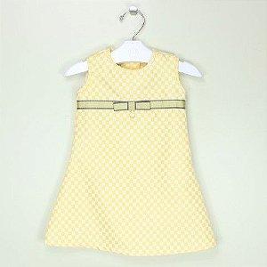 Vestido 1+1 Amarelo Channel