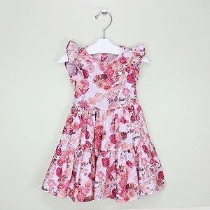 Vestido 1+1 Nuances da Primavera Rosa