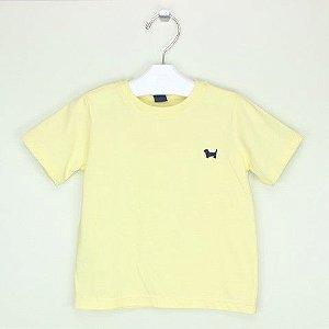Camiseta 1+1 Amarela Lisa