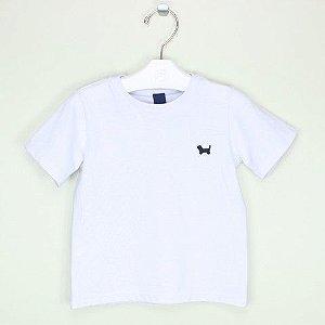 Camiseta 1+1 Branca Lisa