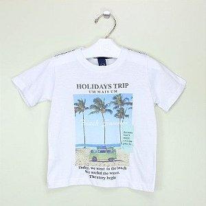 Camiseta 1+1 Trip Branca