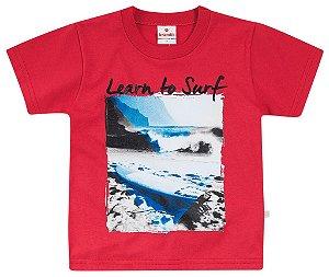 Camiseta Brandili Vermelha Surf