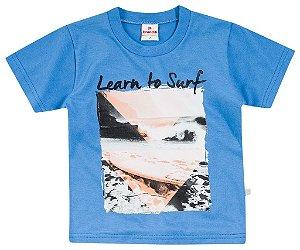 Camiseta Brandili Azul Surf