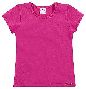 Blusa Brandili Pink ou Salmão Básica