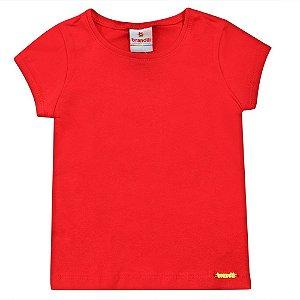 Blusa Brandili Vermelha Básica