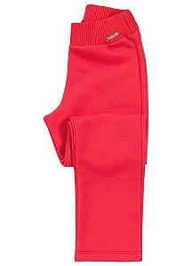 Calça de Moletom Brandili Marinho ou Pink Básica Lisa