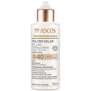 ADCOS FILTRO SOLAR FLUID TONALIZANTE FPS40 50ML