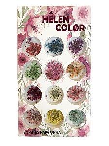 Flores secas para encapsular - Hêlen Color - FS2