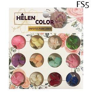 Flores secas para encapsular - Hêlen Color - FS5