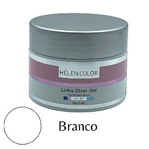 Gel para Unhas de Gel Helen Color Linha Silver – Branco 35g