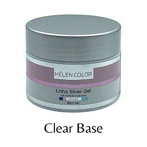 Gel para Unhas de Gel Helen Color Silver – Clear Base 35g