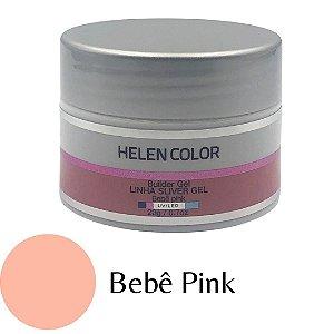 Gel para Unhas de Gel Helen Color Silver – Bebê Pink 20g