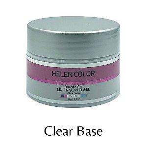Gel para Unhas de Gel Helen Color Silver – Clear Base 20g