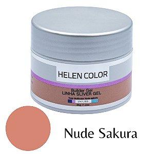 Gel para Unhas de Gel Helen Color Silver – Nude Sakura 35g