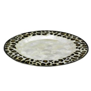 Sousplat Redondo Design Leopardo