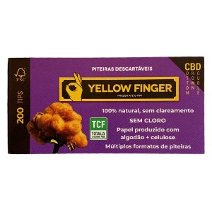 Piteira Yellow Finger Double Cotton Brown