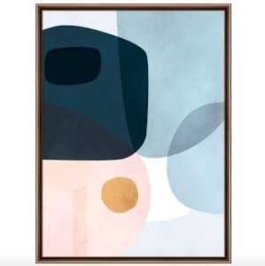 Pastel Organic I Quadro 61 cm X 81 cm