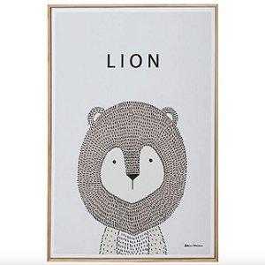 Little Ones Lion Quadro 20 cm X 30 cm