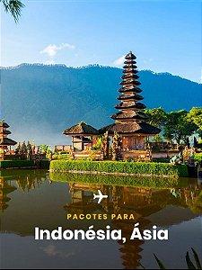 Pacote para Indonésia - 4 dias + Passagem Aérea